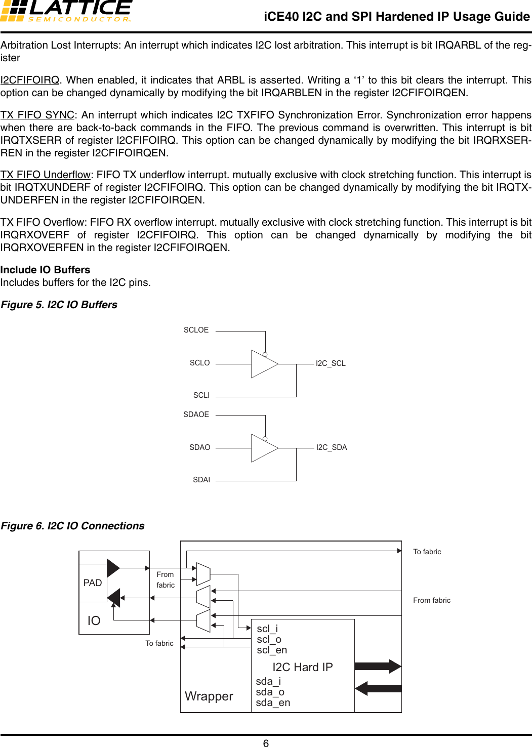 TN1274 ICE40 I2C And SPI Hardened IP Usage Guide I