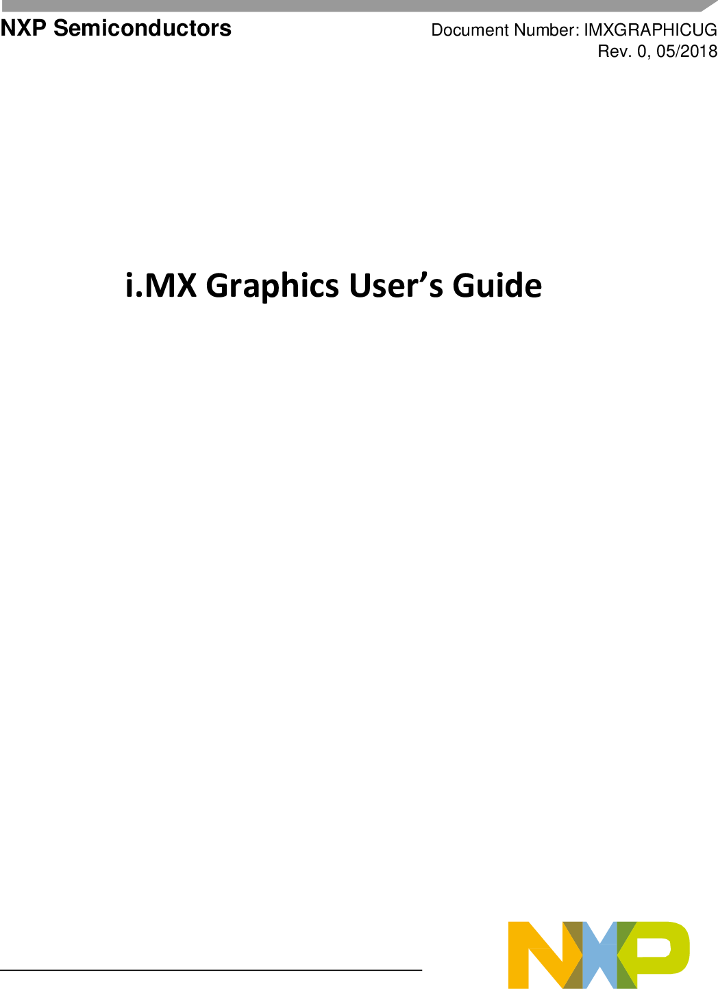 I MX Graphics User's Guide User's