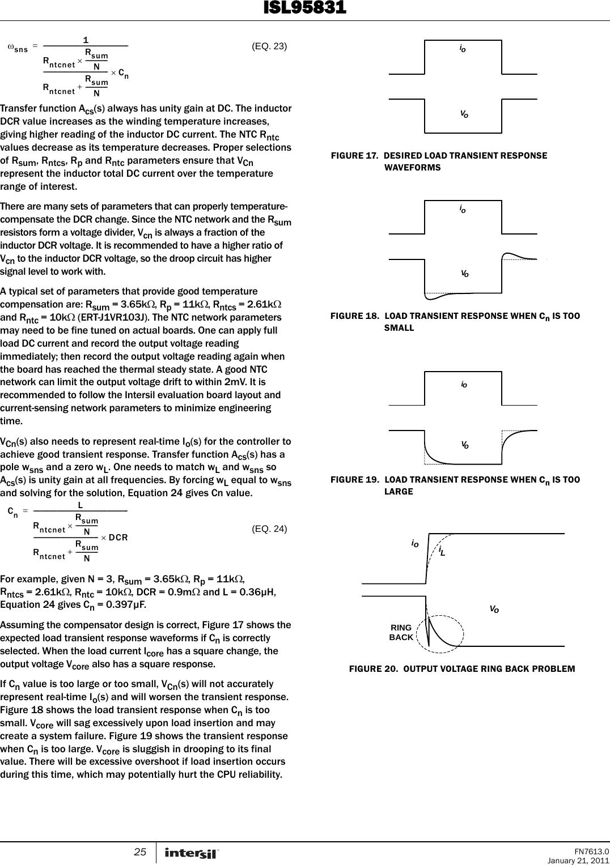 ISL95831 Datasheet  Www s manuals com  Intersil