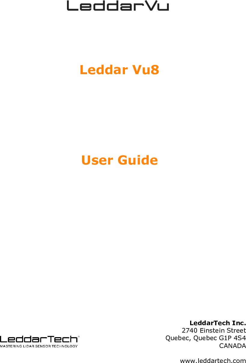 Leddarvu And Configurator User Guide