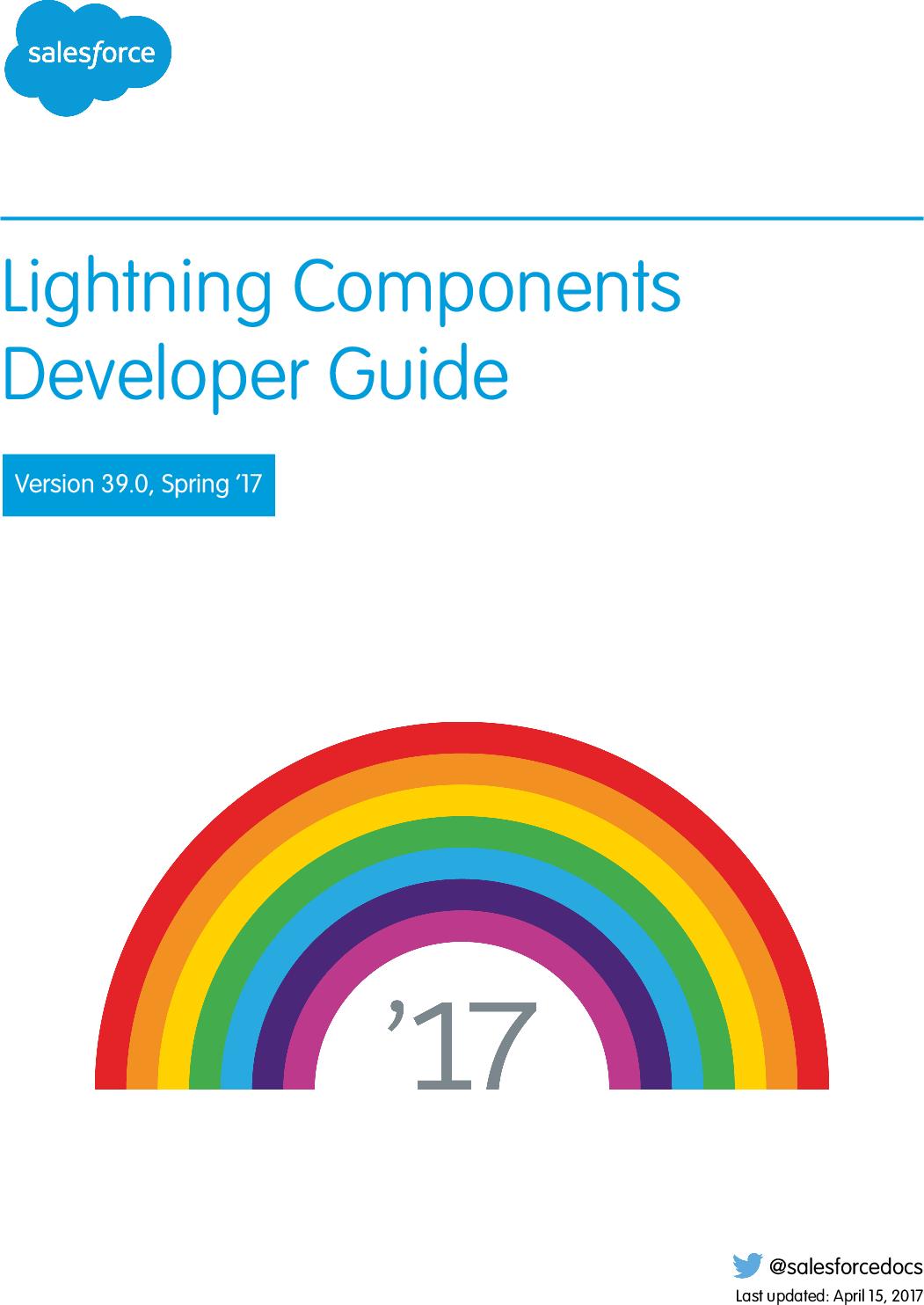 Lightning Components Developer Guide