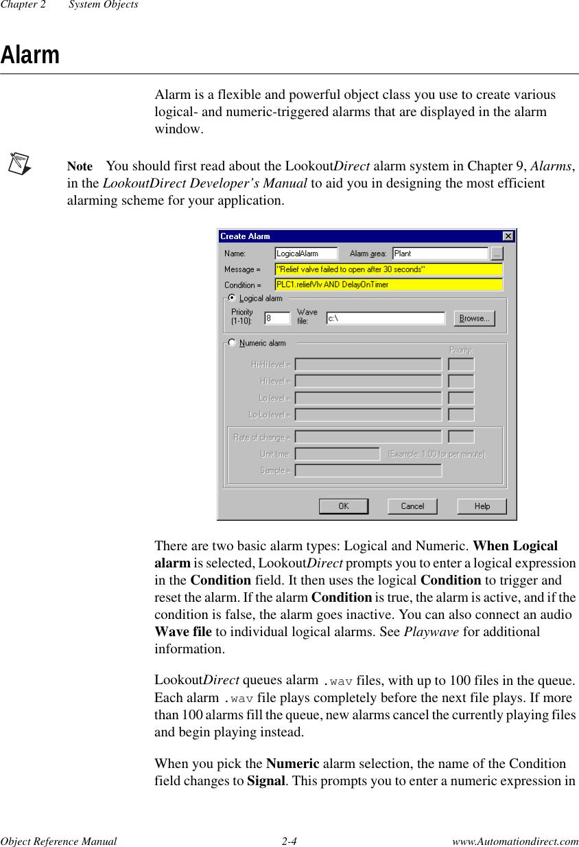 LK4Ref View / The Manual Lkd Referencem