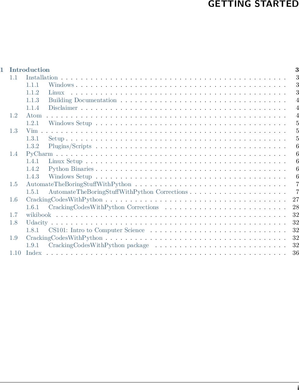 Python tutorials Ation Manual