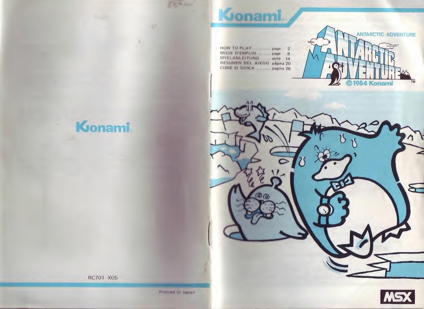 Antarctic Adventure Manual Gb Fr Antartic Text