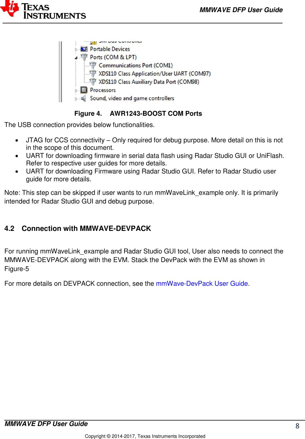 Mmwave Dfp User Guide