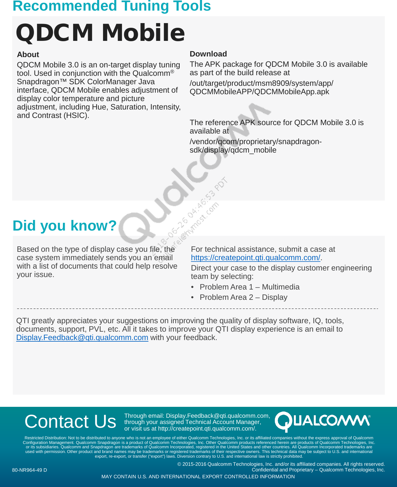Qualcomm Package Manager Download