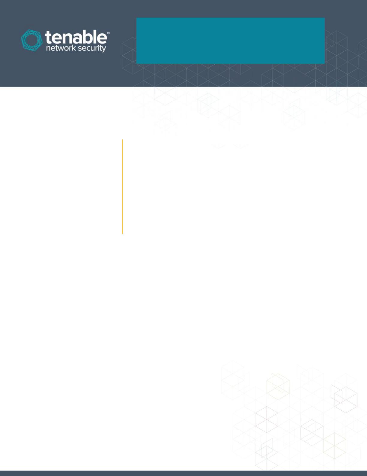 Nessus Enterprise For Amazon Web Services (AWS) Installation