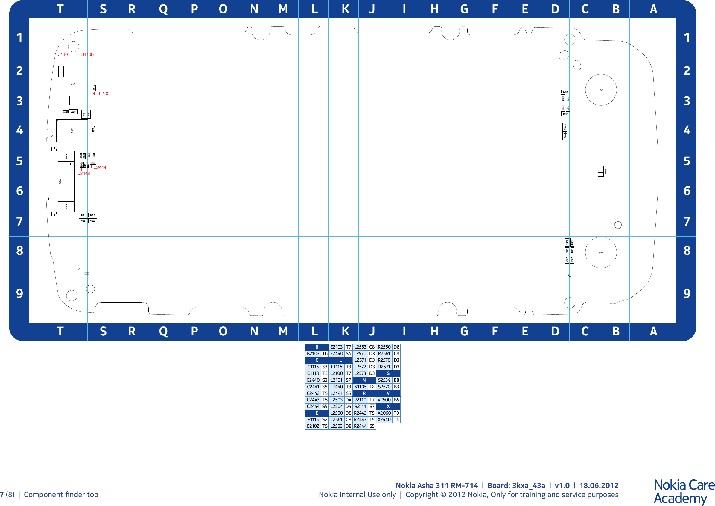Page 7 of 9 - Nokia Asha 311 RM-714 - Service Schematics. Www
