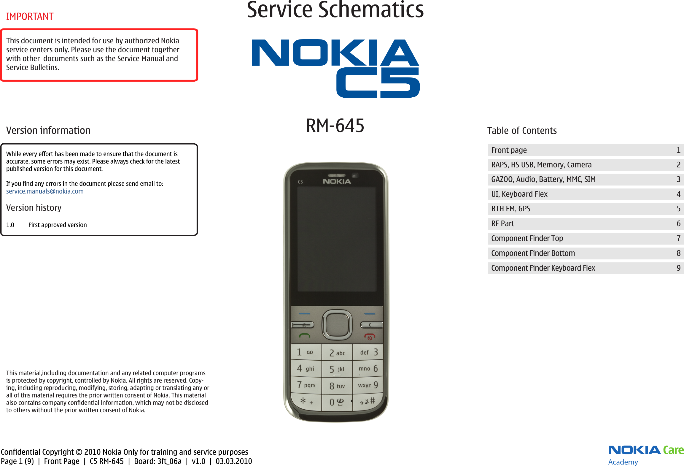 nokia c5 00 rm 645 service schematics www s manuals com schematics rh usermanual wiki nokia c5-00 manuale Nokia C2-00