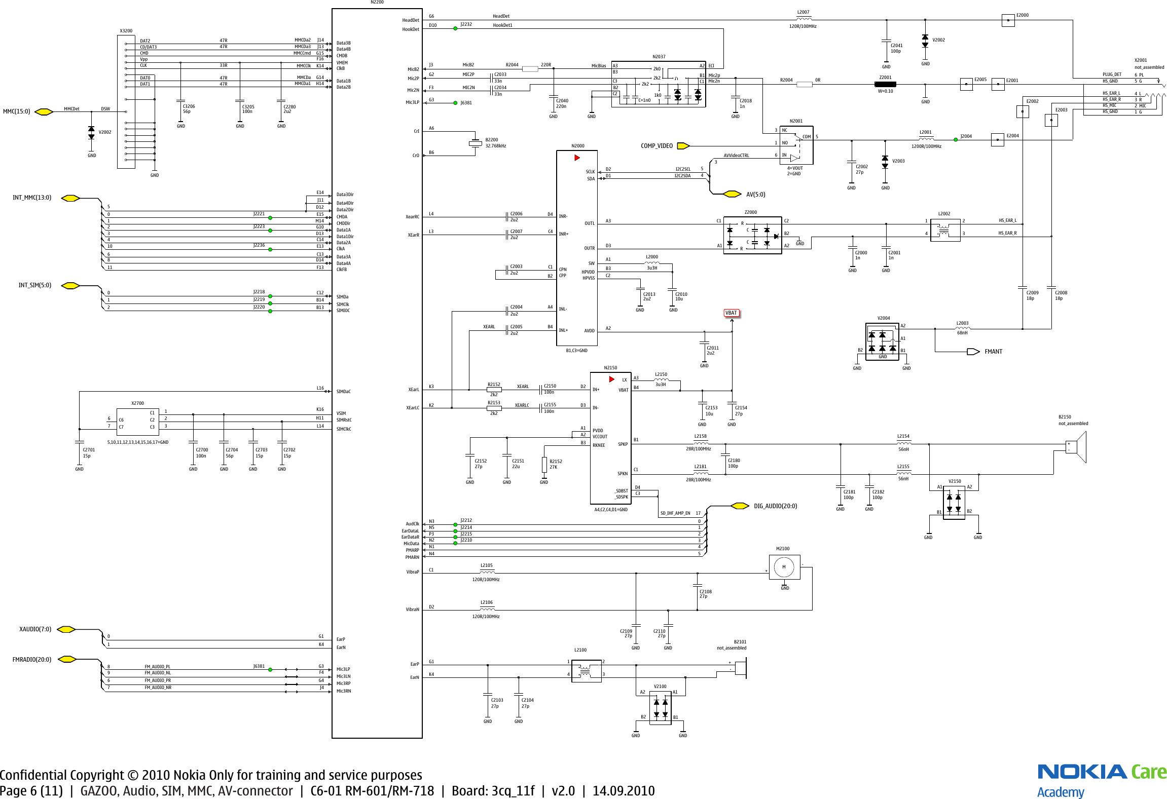 Nokia C6 Service Manual Volvo Wiring Diagram Fl6 Pdf Array 01 Rm 601 718 Schematics V2 Rh Usermanual Wiki