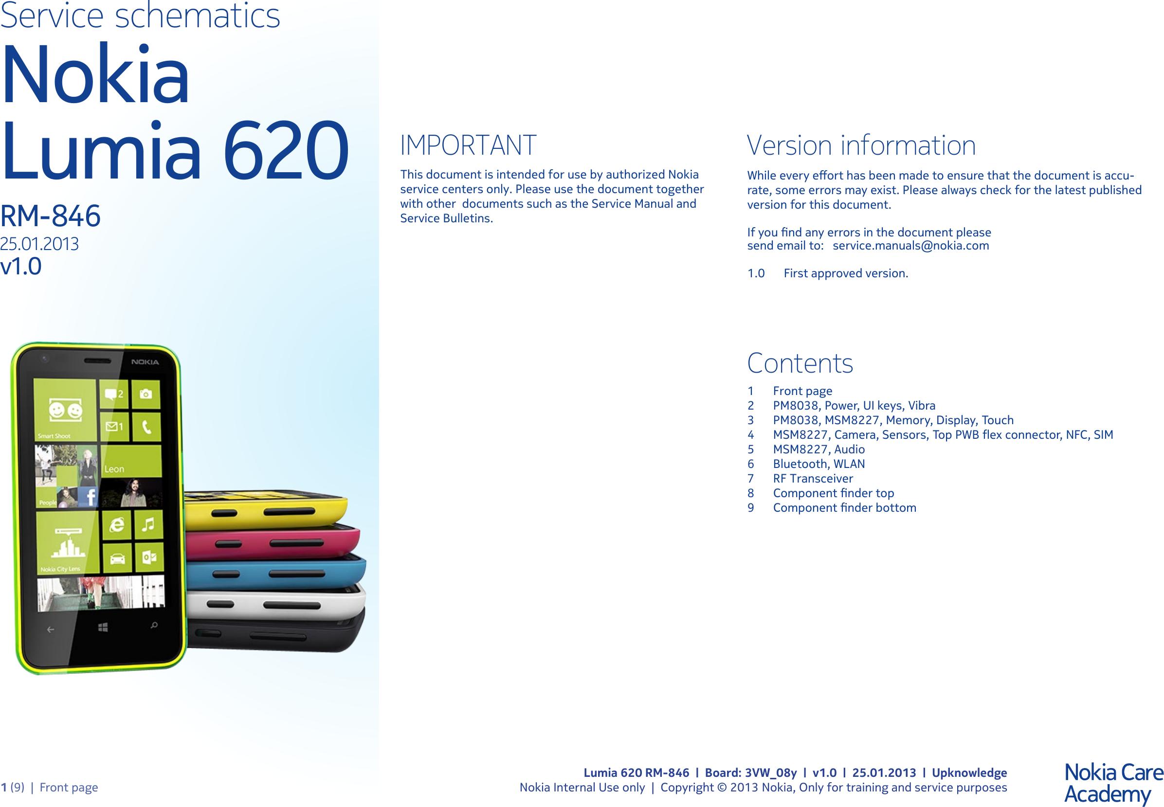 Nokia C6 Service Manual Hp Laserjet 1100a Array Lumia 620 Rm 846 Schematics Www S Manuals Com Rh Usermanual Wiki