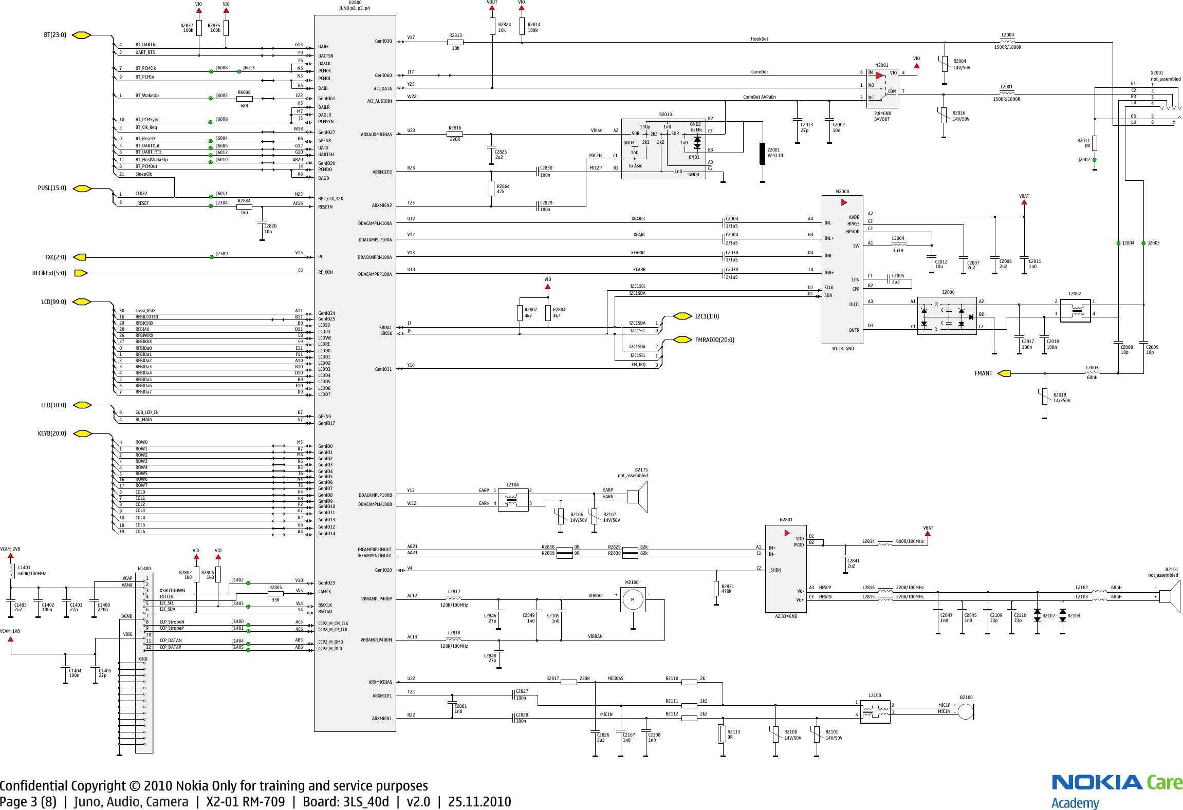 page 3 of 8 - nokia x2-01 rm709 service schematics rm-709 v2