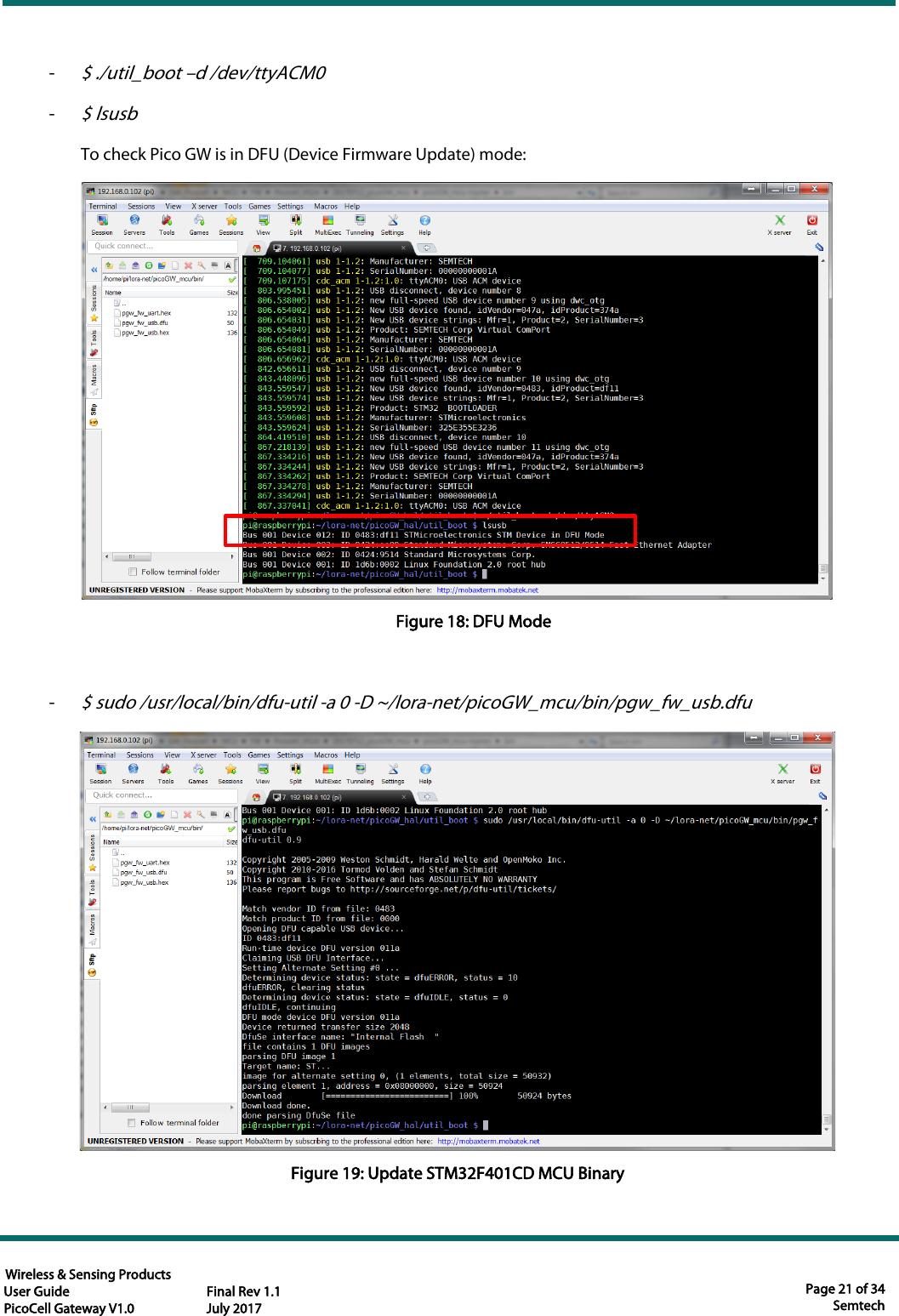 Picocell Gateway User Guide