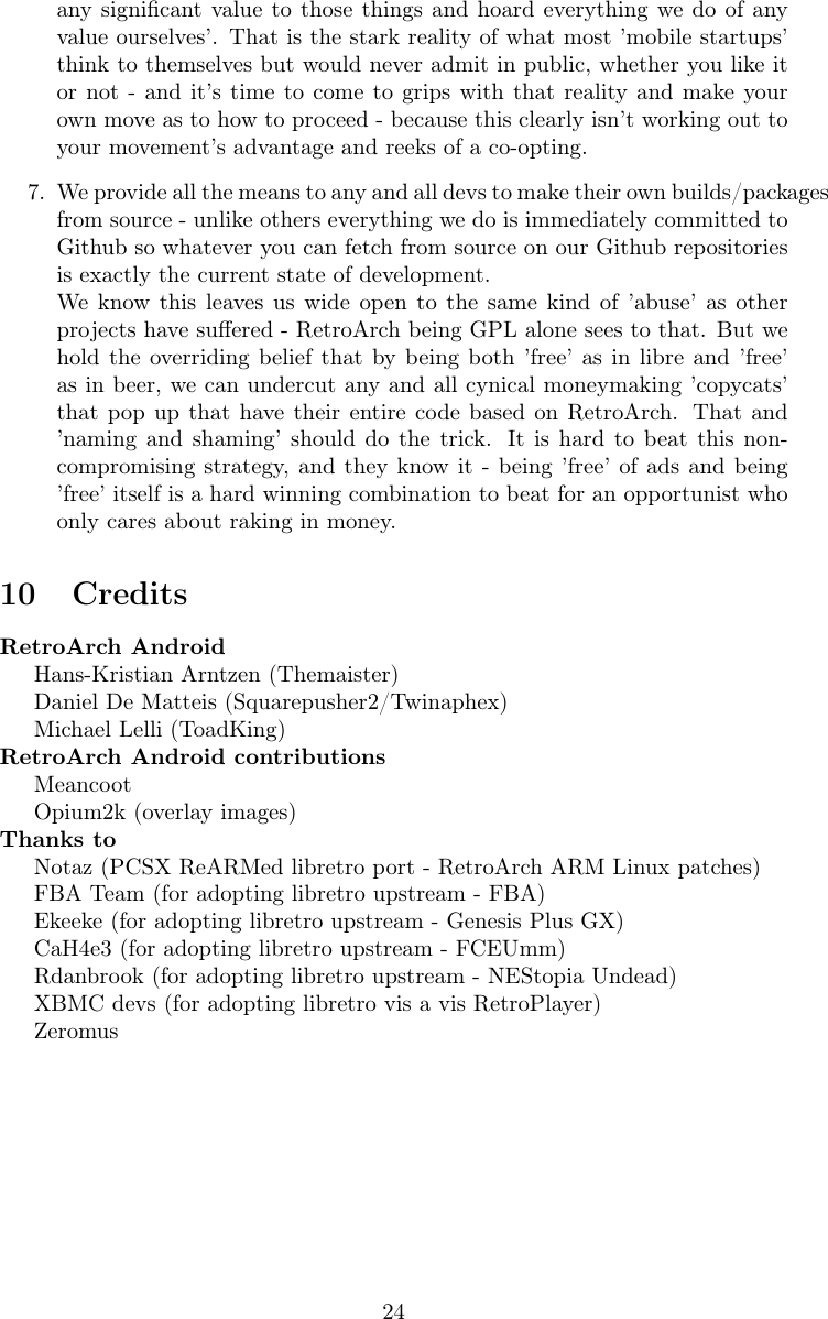 RetroArch Android Manual