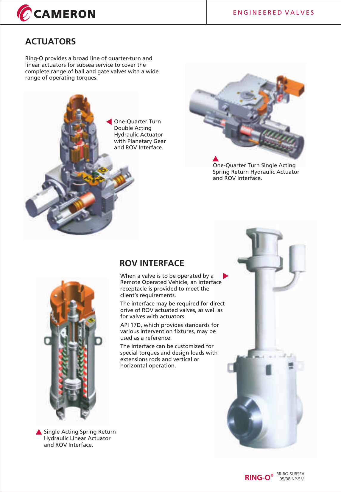 BR RO SUBSEA REV 8 TR (web) Ring o valves and actuators for