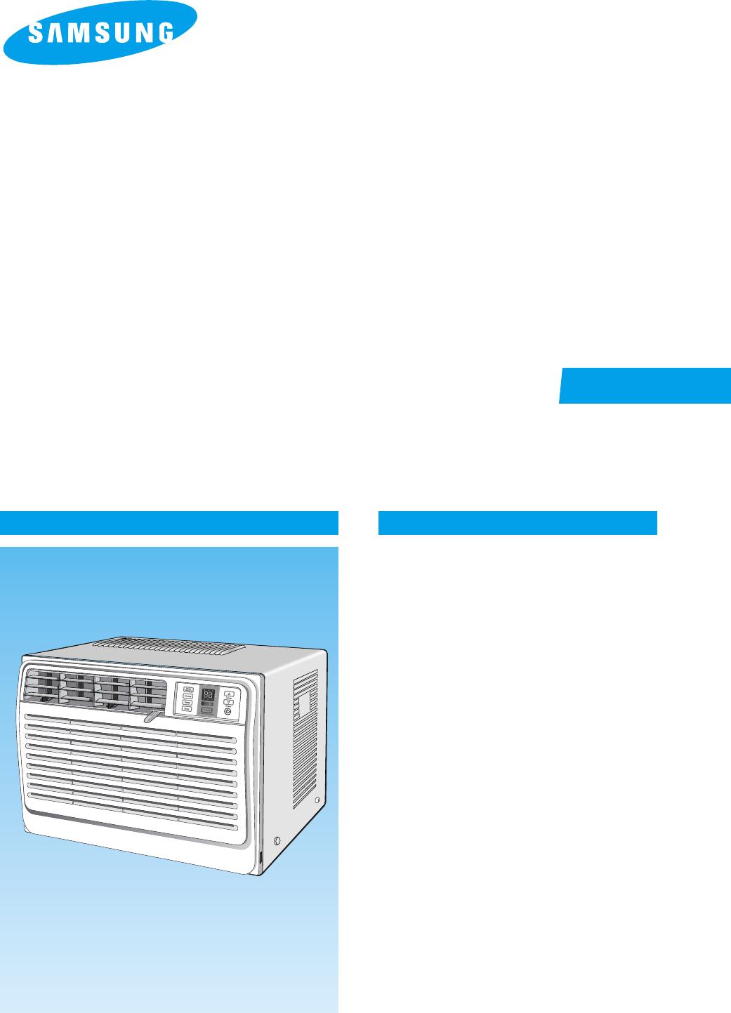Installation manual Samsung Air conditioner Lg hauzen
