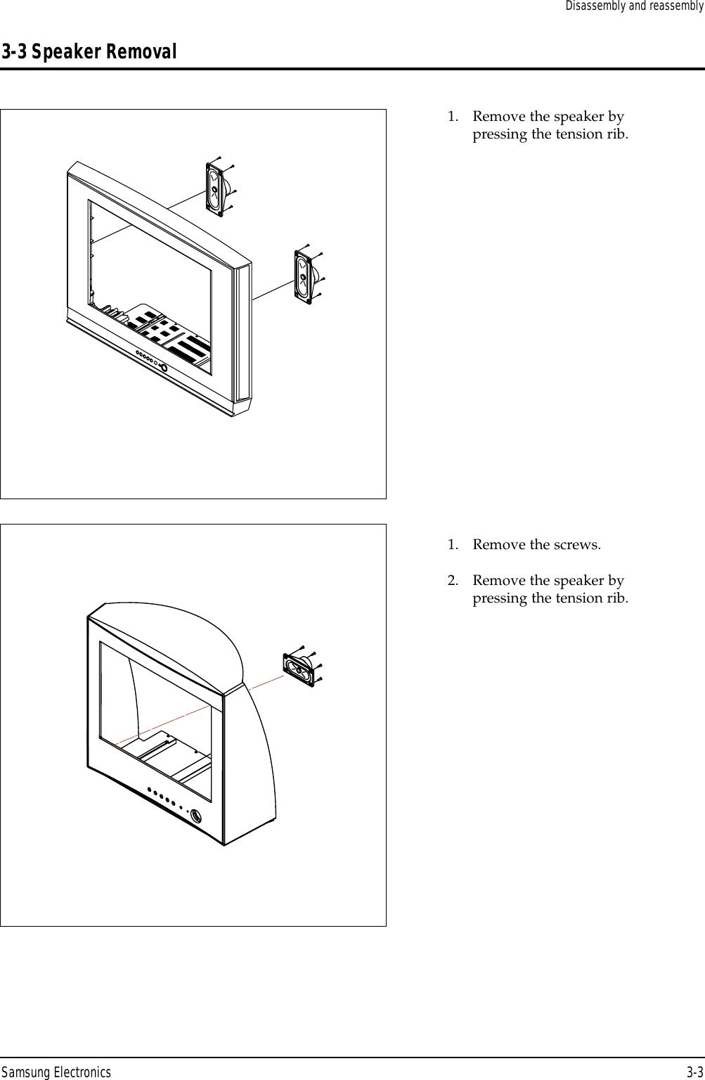 Samsung CS21K3DX, CS21K2DX Service Manual  Www s manuals com
