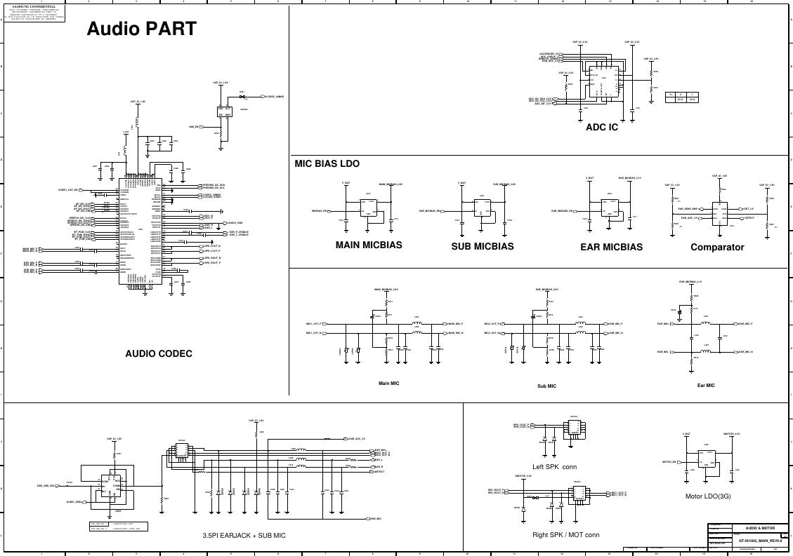 Page 5 of 11 - Samsung GT-P3100 - Schematics. Www.s-manuals.com. R0.6 Schematics