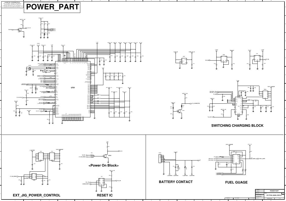Page 8 of 11 - Samsung GT-P3100 - Schematics. Www.s-manuals.com. R0.6 Schematics