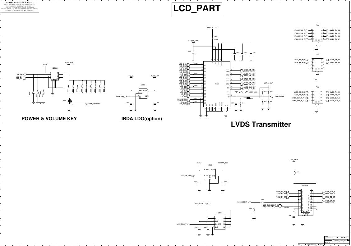 Page 9 of 11 - Samsung GT-P3100 - Schematics. Www.s-manuals.com. R0.6 Schematics