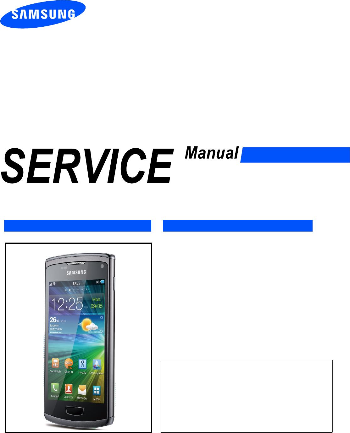 google samsung manual