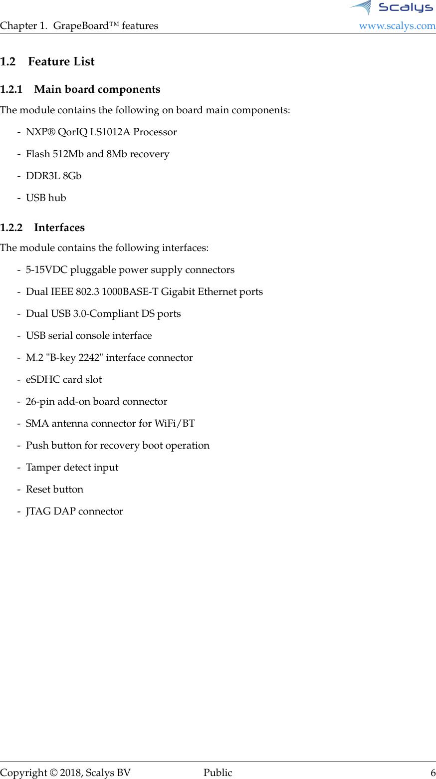 Scalys Grapeboard User Manual V1 0