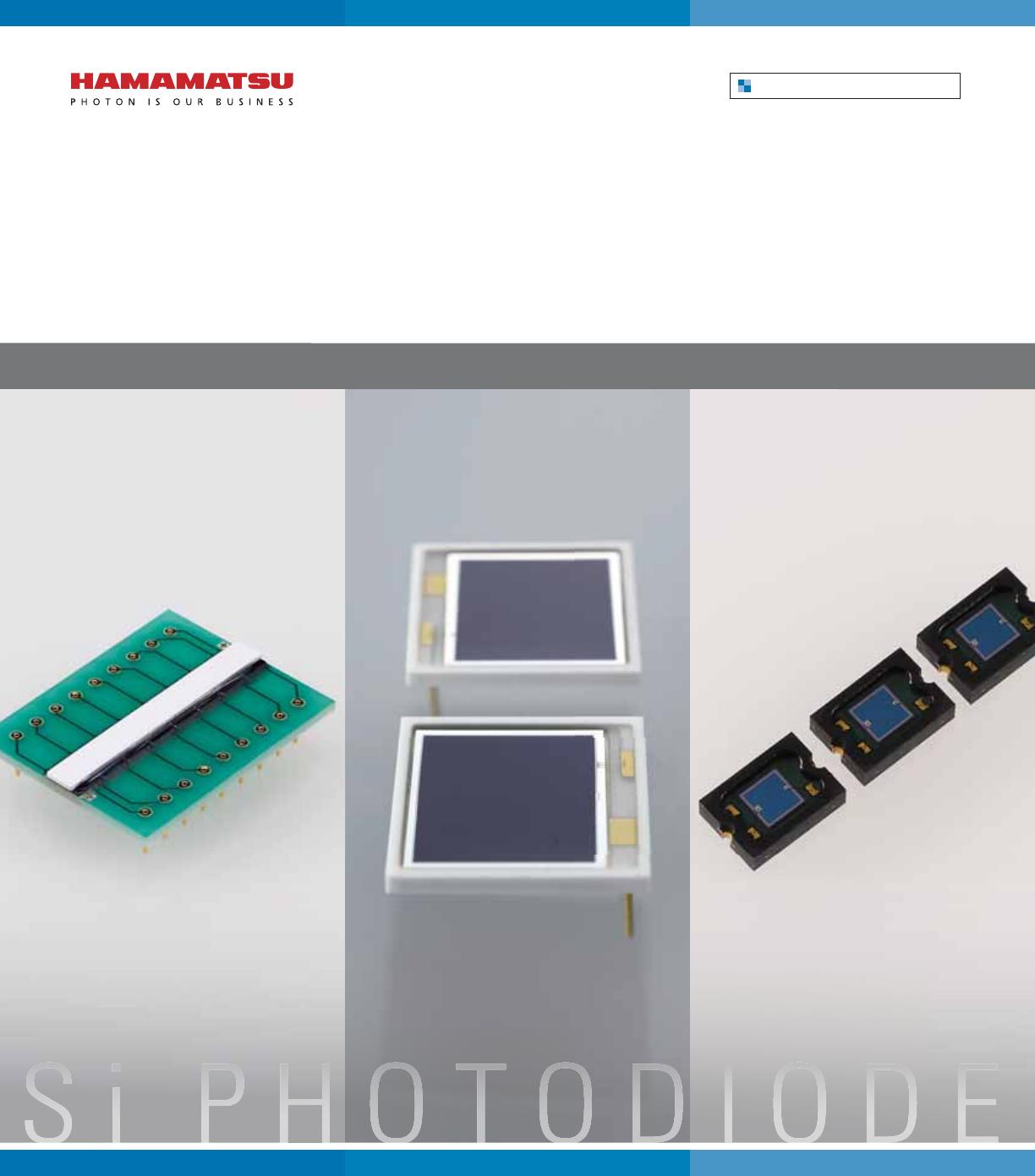 Hamamatsu S2386-44K Si photodiode For visible to near IR precision photometry