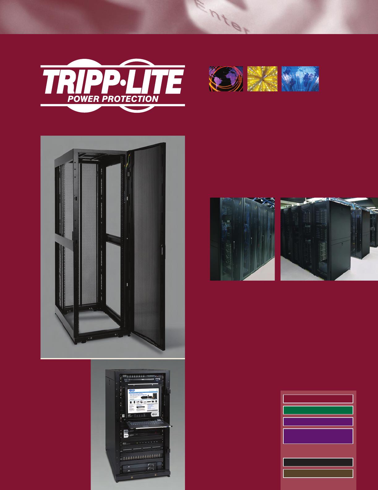 Tripp Lite SRCOMBO Rack Enclosure Cabinet 2-pack Door Handles with Combination Lock