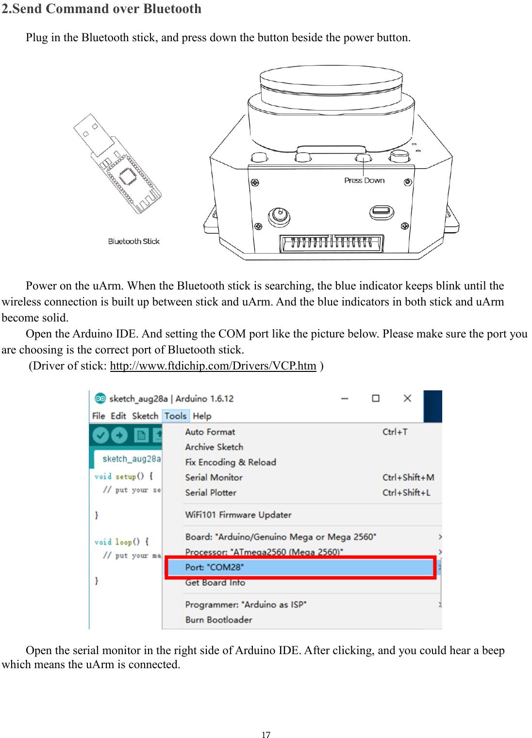 Openmv Arduino