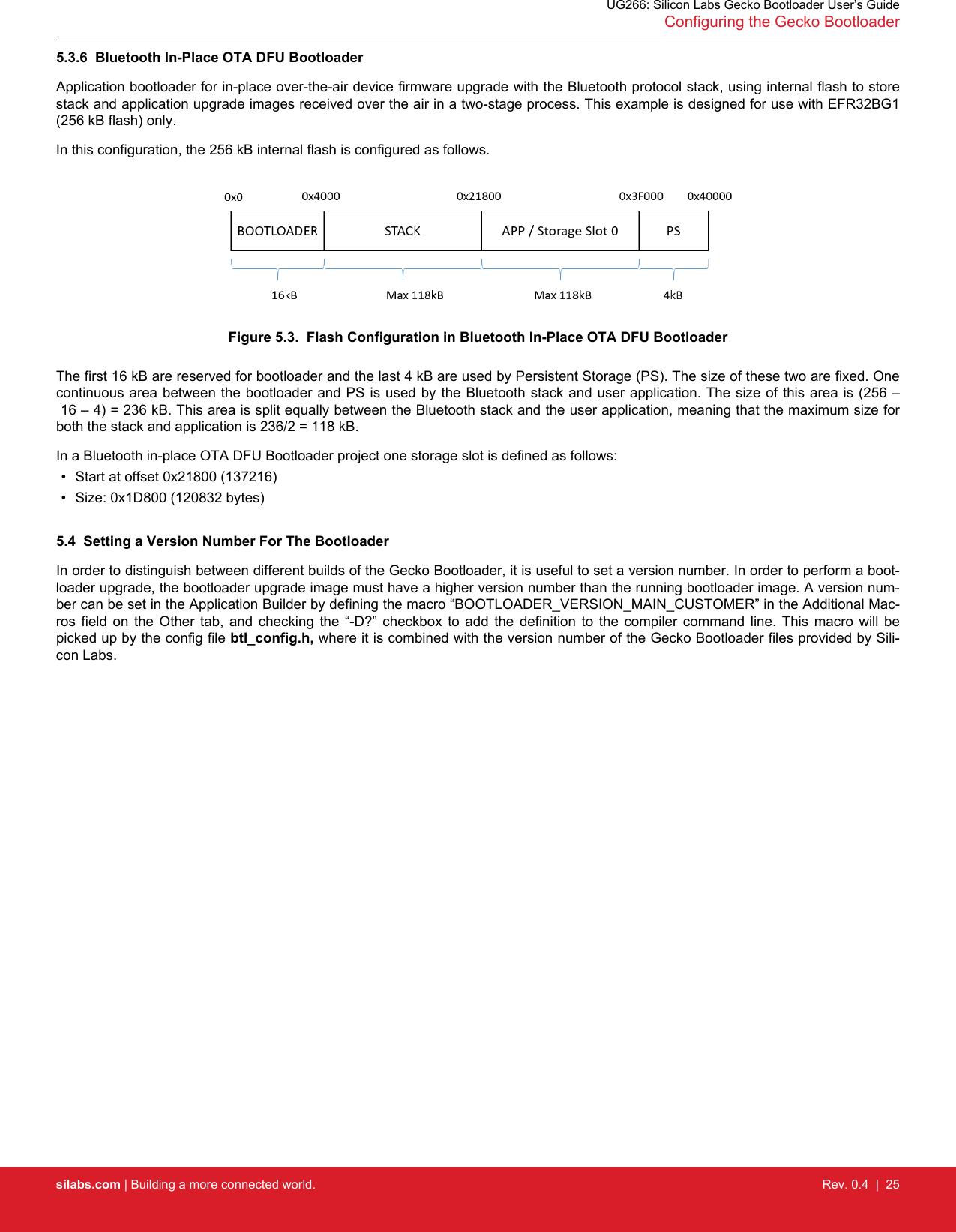 UG266: Silicon Labs Gecko Bootloader User's Guide Ug266 user