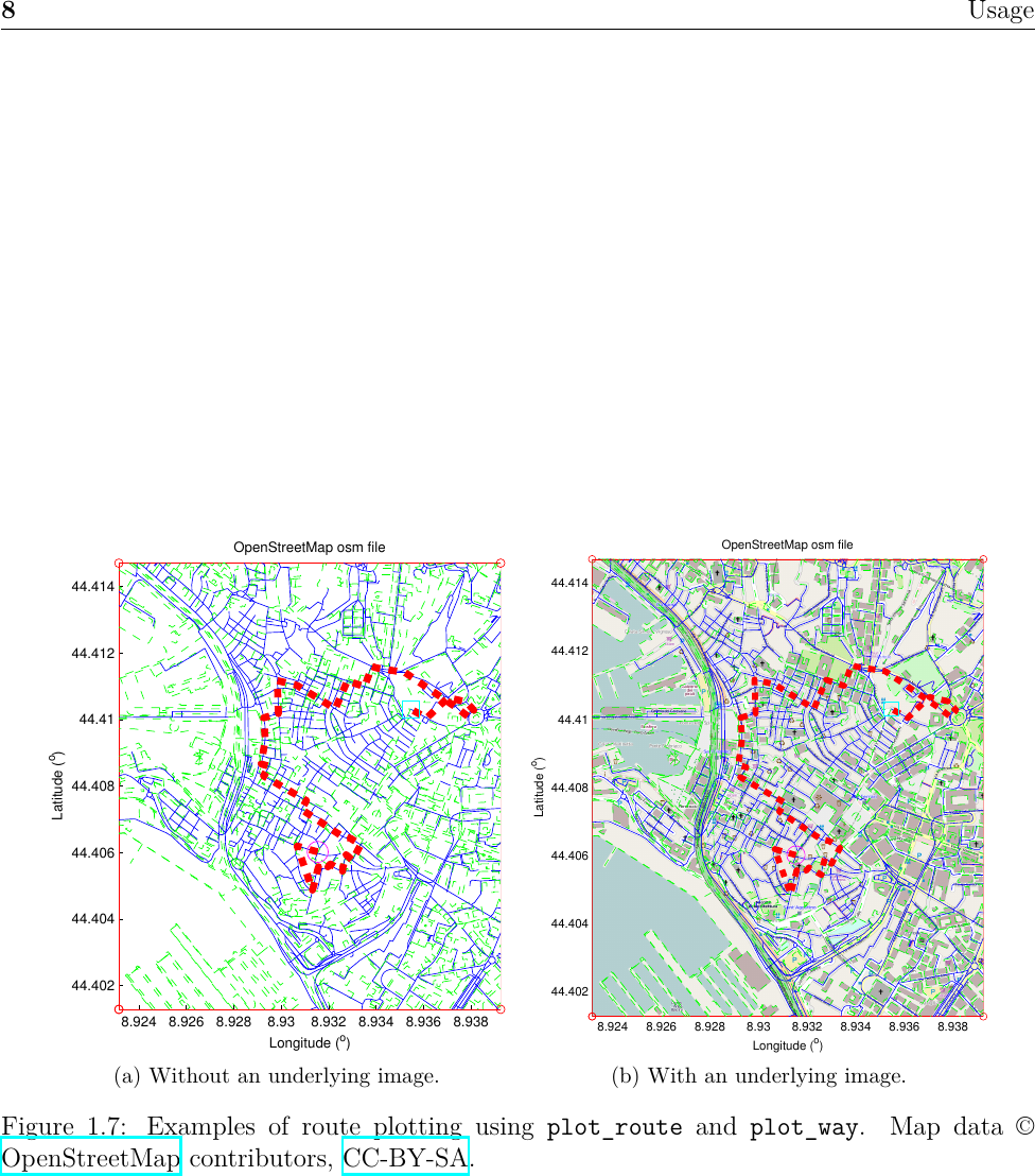 OpenStreetMap Toolbox For MATLAB V 0 1 User Manual V0 2