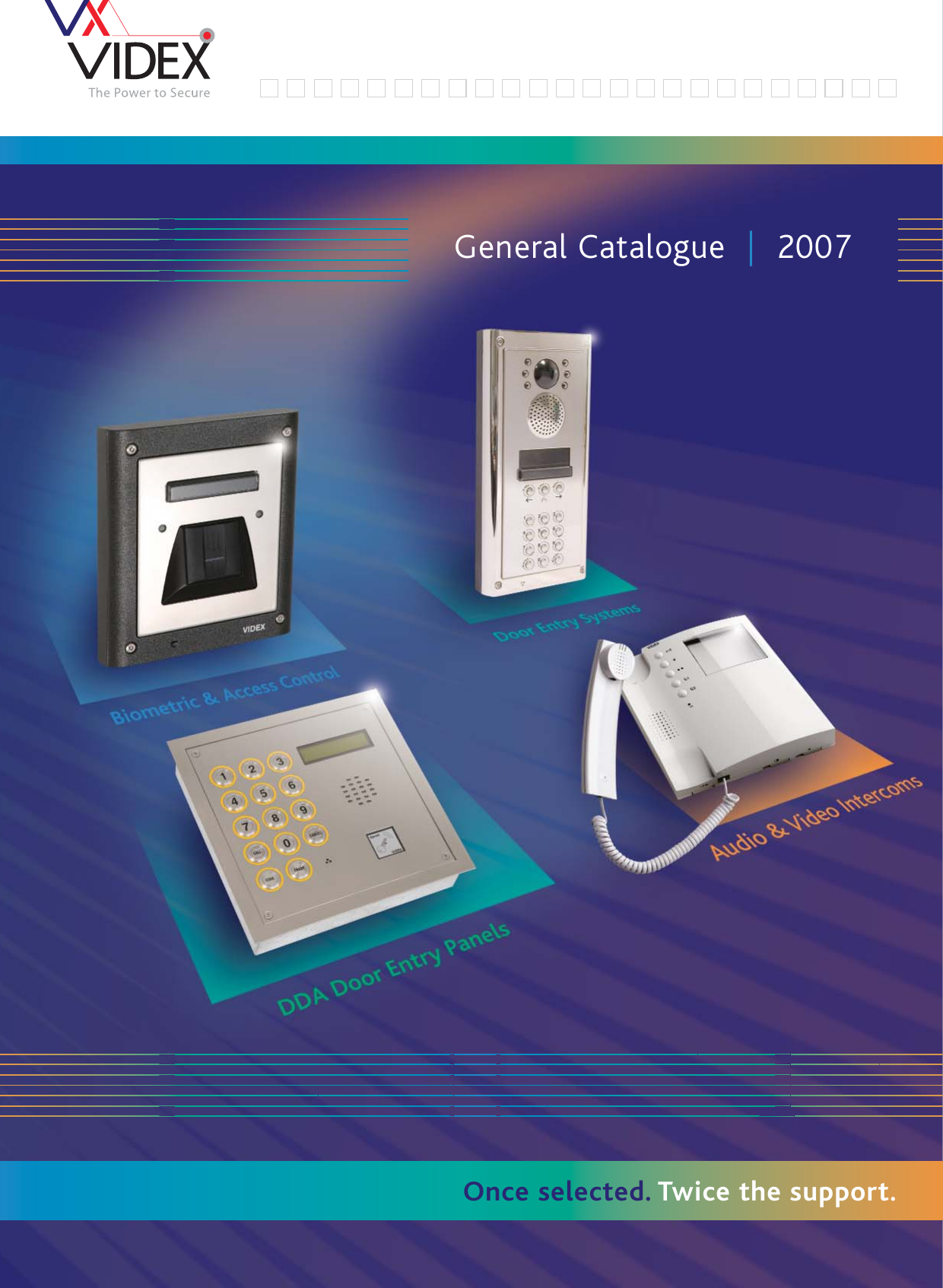 3151 Tla Videx Cat 2007qxp Catalogue 2007 Fullduplex Intercom Pcb For Your Office And House Electronic Design