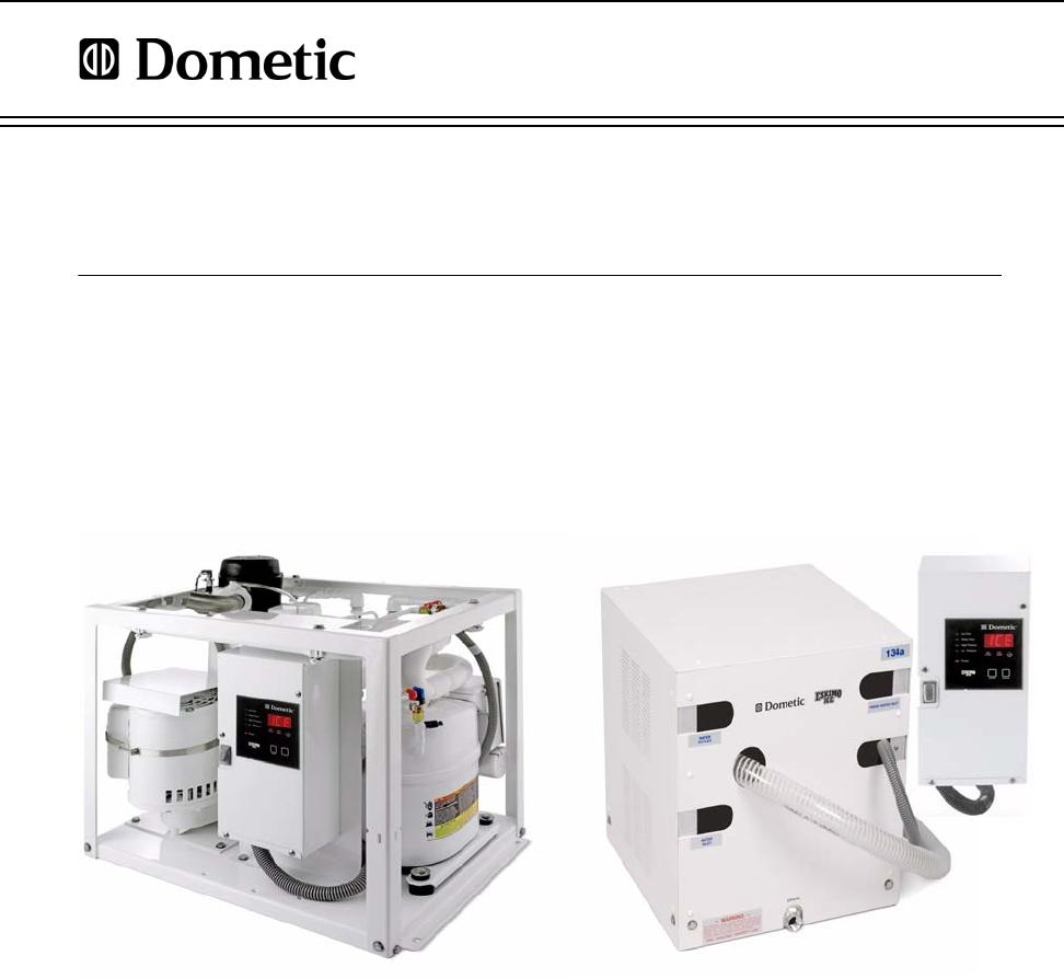Dometic EI250D Eskimo Ice EI600 & EI250 Installation Manual