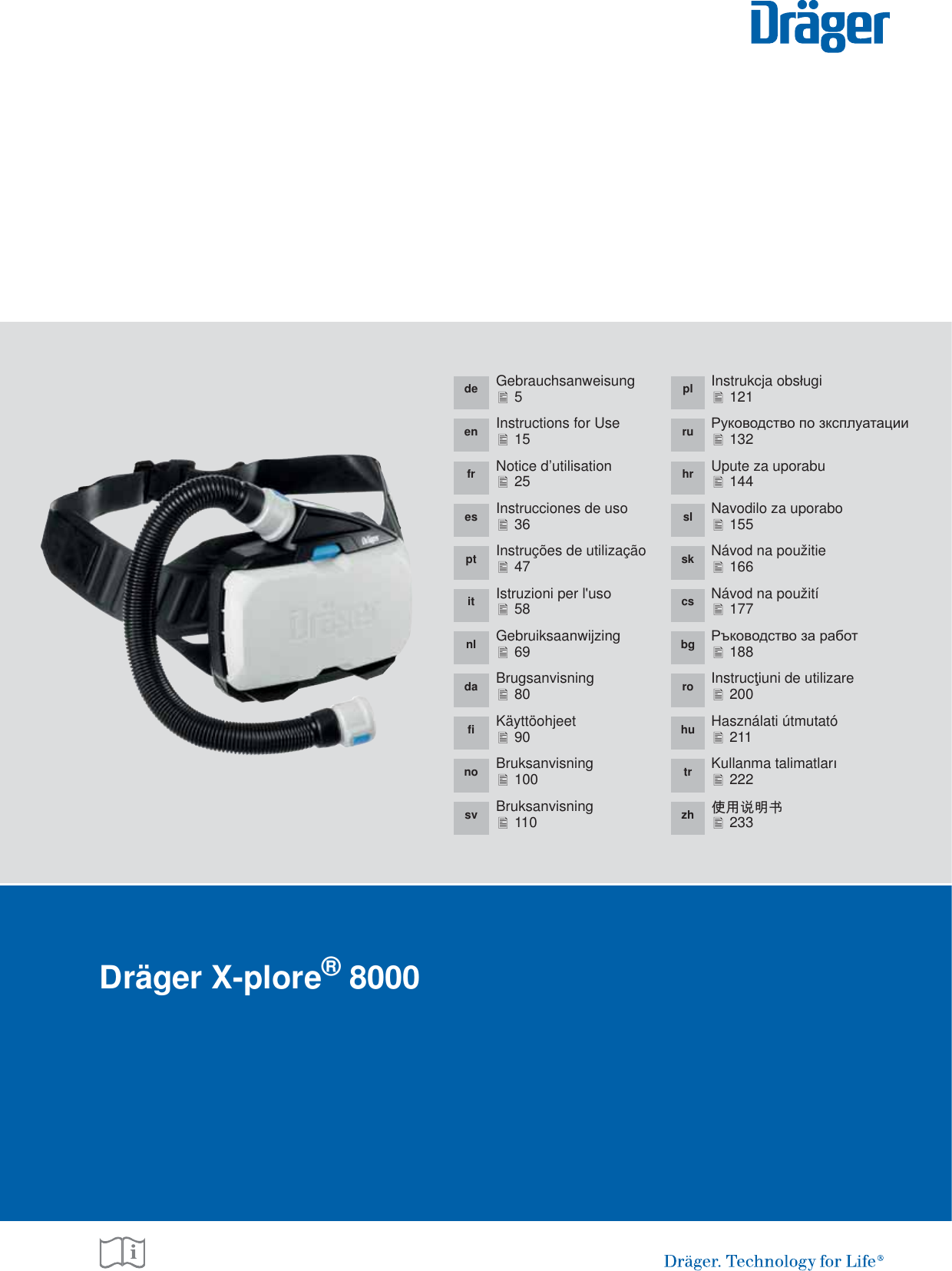 Dr ger Safety and KGaA XPLORE8500 Draeger X-plore 8500 (IP