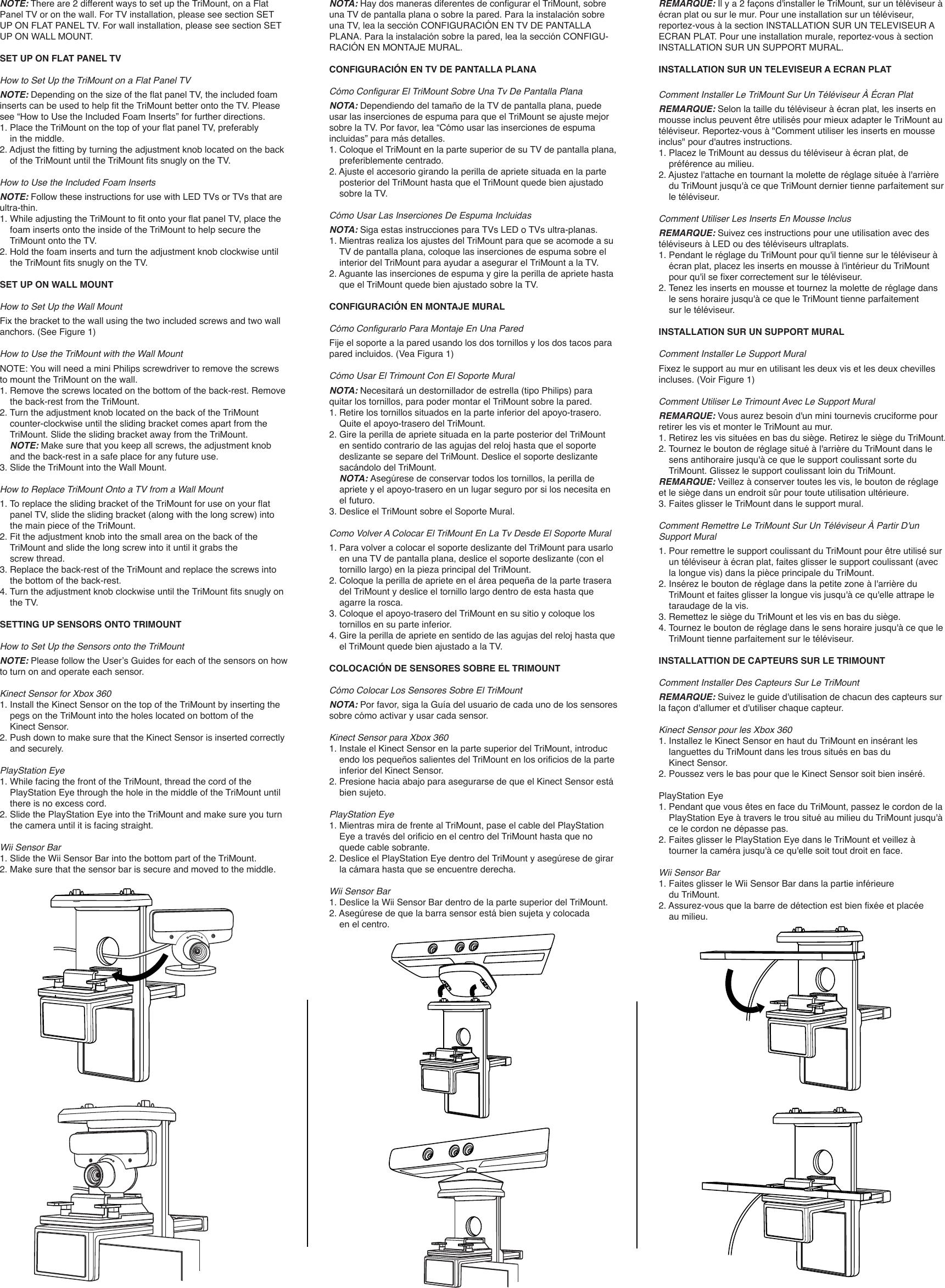 Comment Installer Tv Au Mur dreamgear tv mount dgun 2534 users manual trimount ugweb v2
