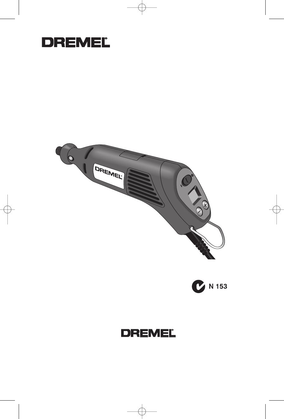 Dremel 400 Series Digital 398 49 Users Manual DM 2610934164 04 06 on