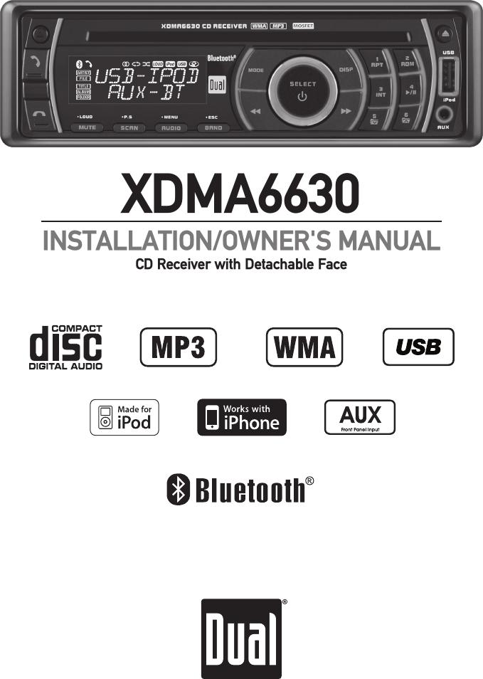 dual xdma6630 users manual