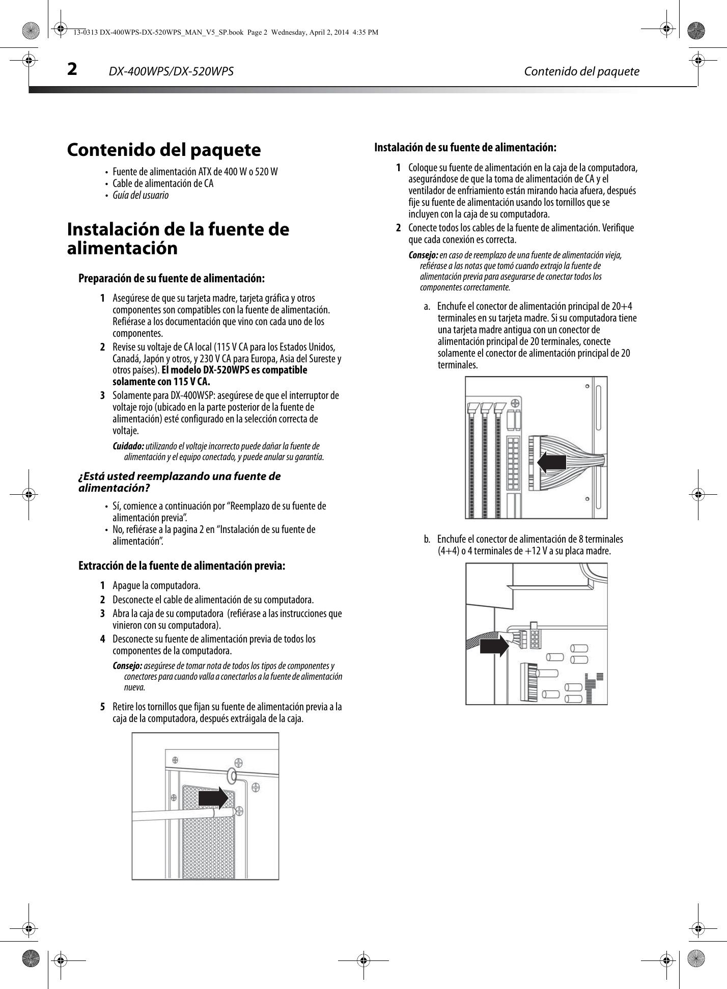 dynex 400 watt atx cpu power supply white users manual 13 0313 dx rh usermanual wiki Quick Reference Guide User Manual