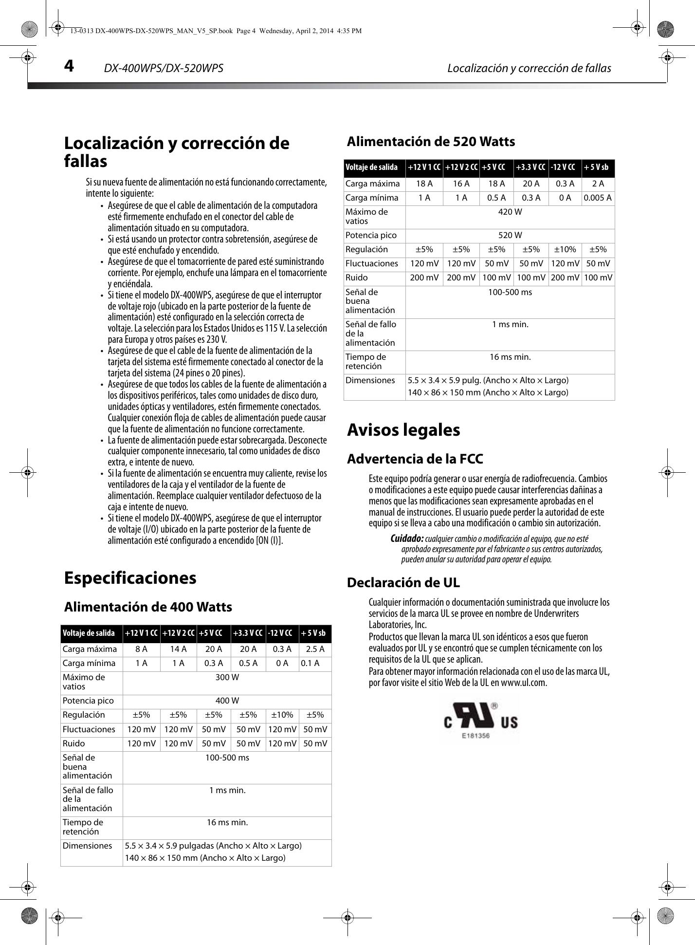dynex 400 watt atx cpu power supply white users manual 13 0313 dx rh usermanual wiki User Guide Template Kindle Fire User Guide
