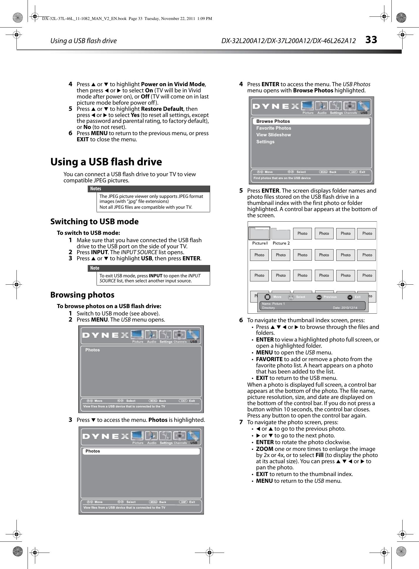 Dynex Dx 32L200A12 Users Manual 32L 37L 46L_11 1082_MAN_V2_EN