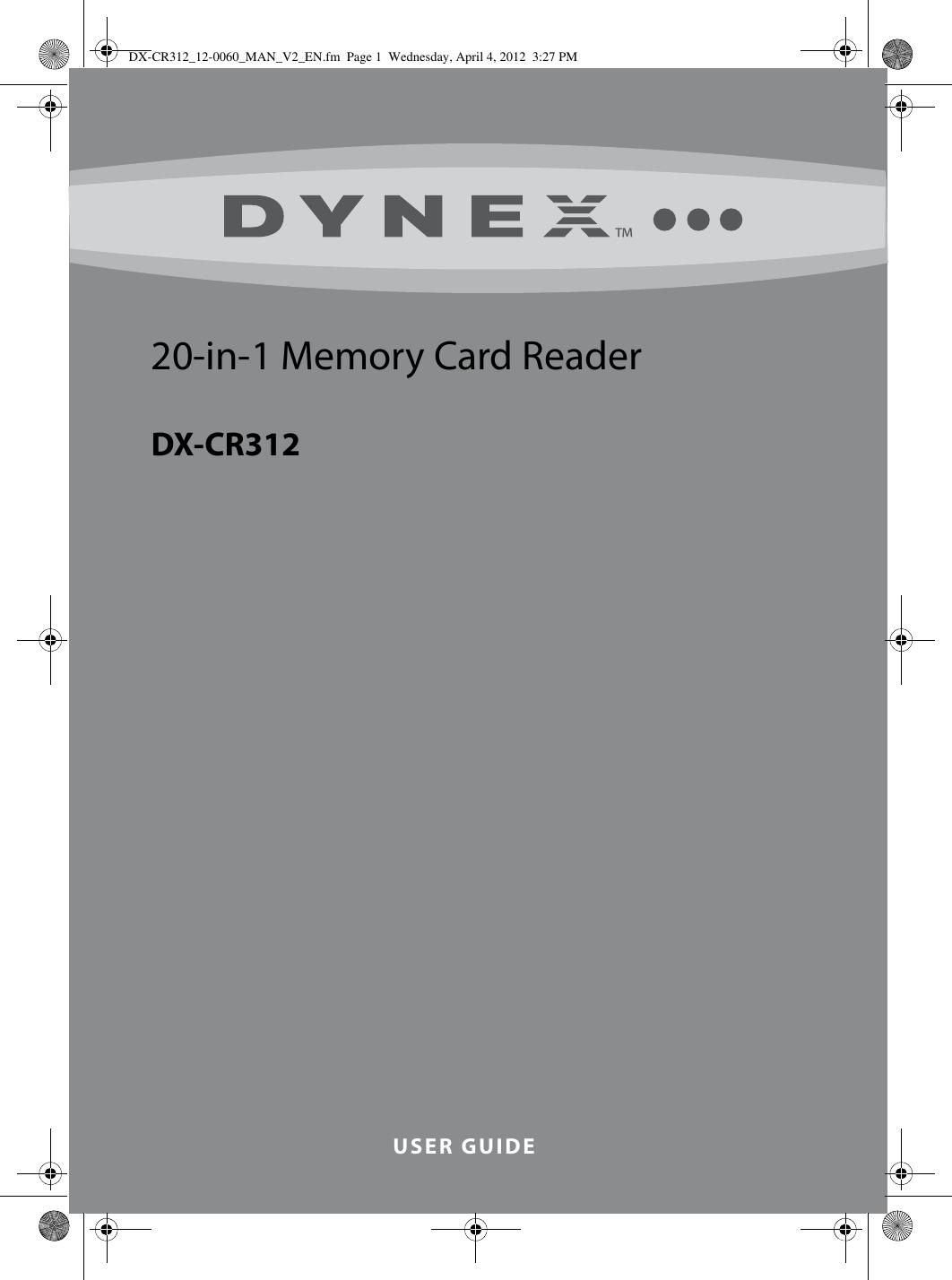 DYNEX DX-CR312 WINDOWS 7 DRIVERS DOWNLOAD (2019)