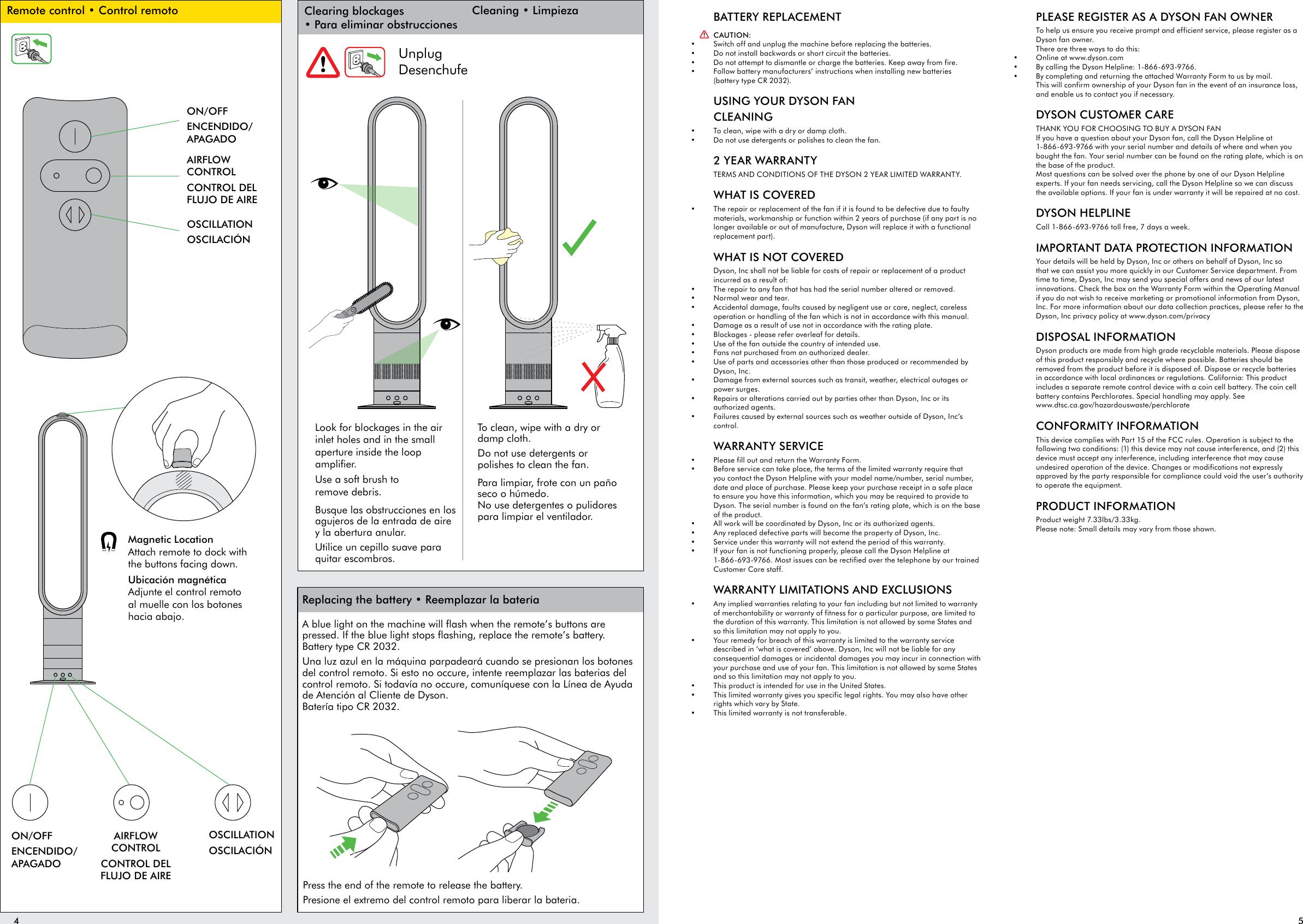 Tower Fan manual