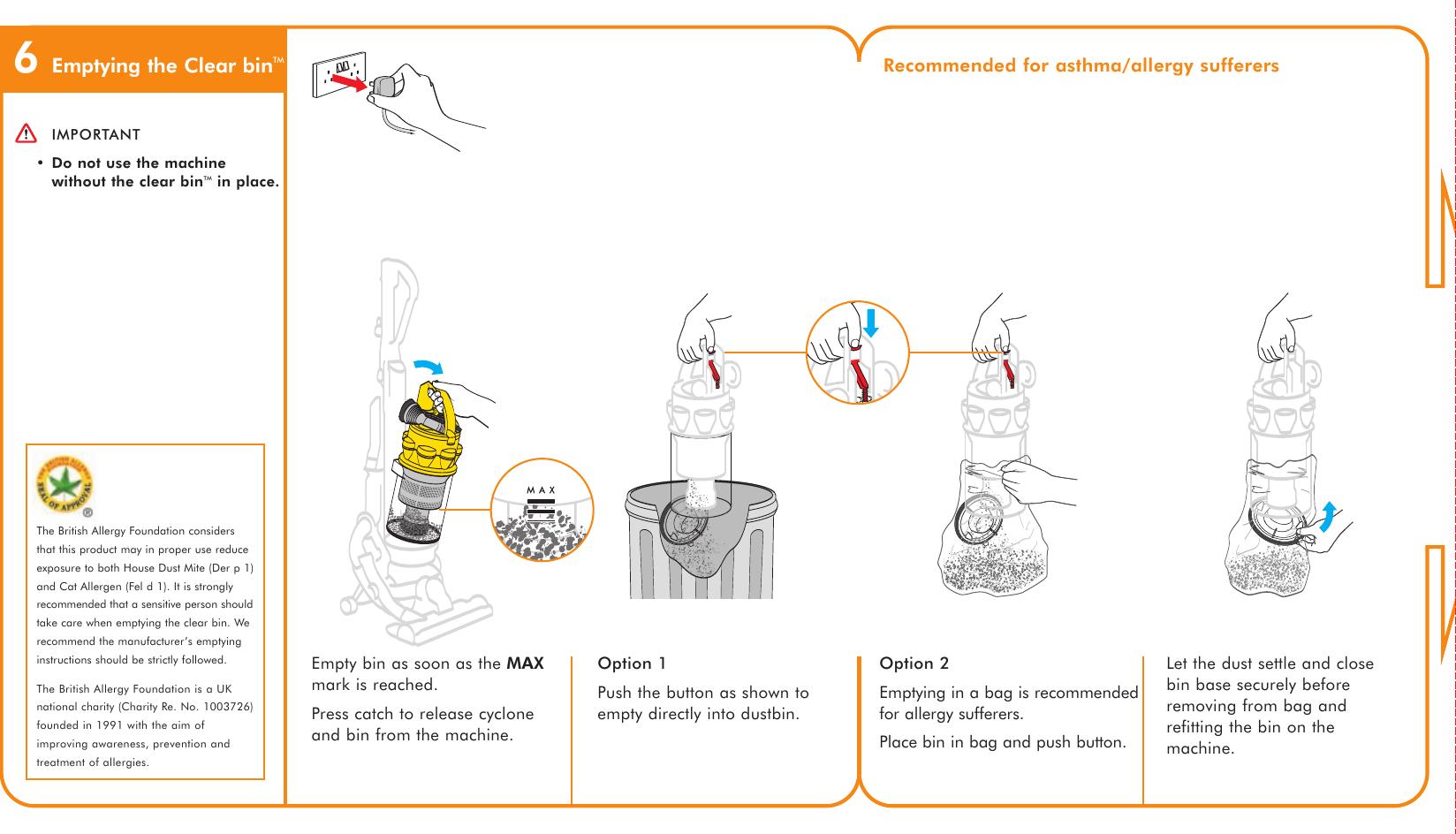 dyson ball инструкция открыть