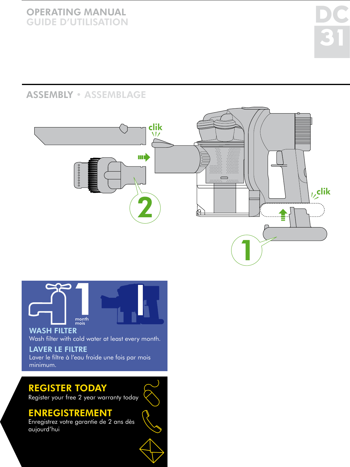 dyson vacuum cleaner dc31 users manual rh usermanual wiki Dyson Vacuum Owner's Manual DC-4 Dyson Vacuum Cleaners Manual