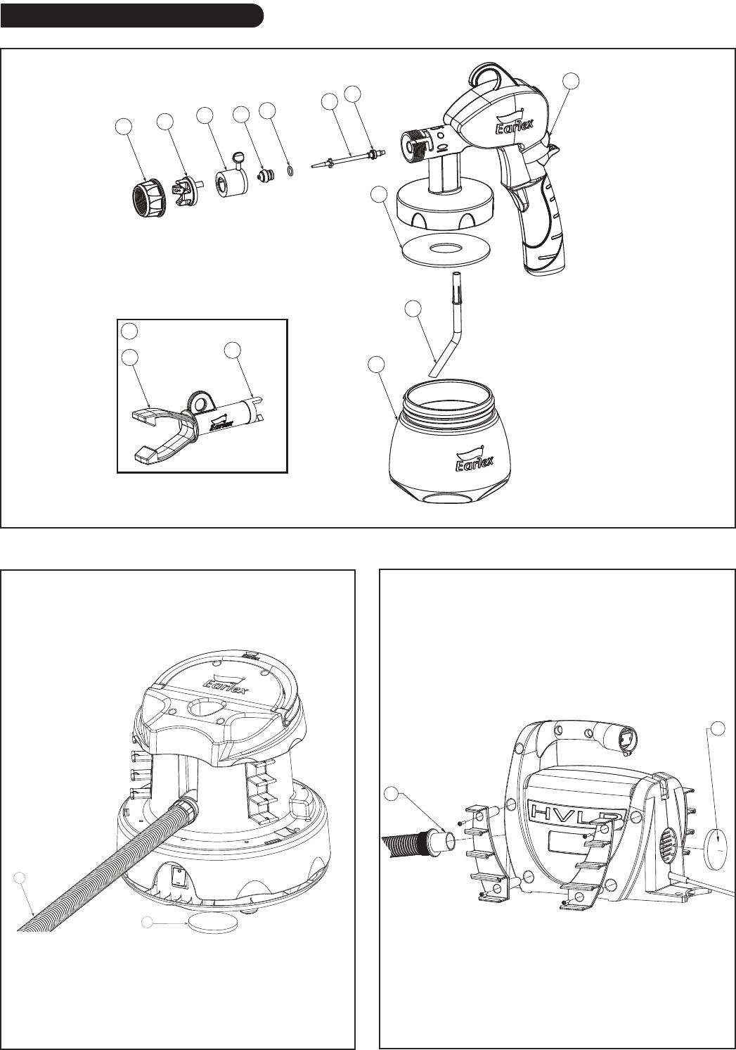 Earlex Spray Staton Hv2900 Users Manual