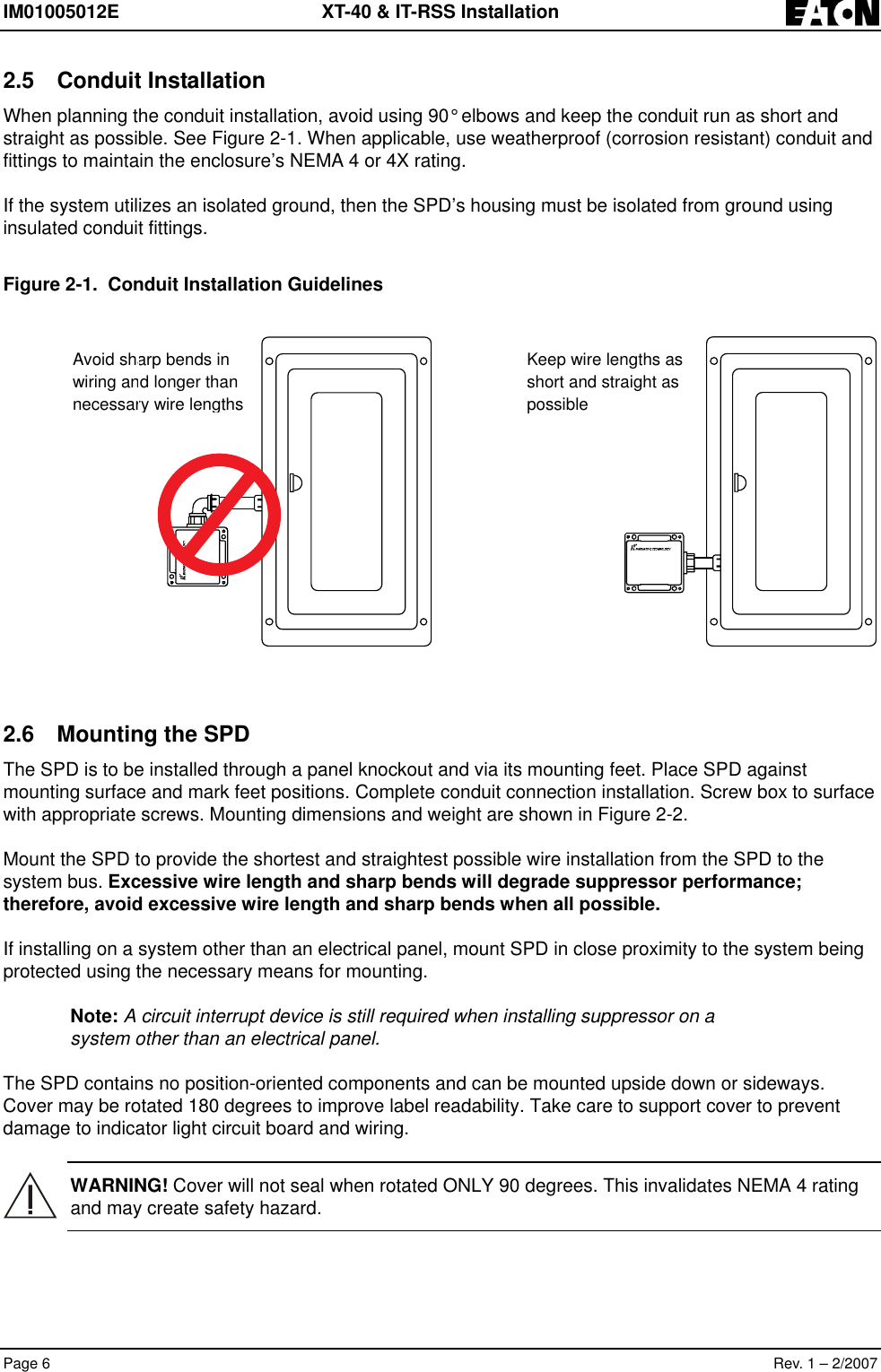 Eaton Electrical Im01005012e Users Manual Isolated Ground System Wiring Diagram Page 8 Of 12