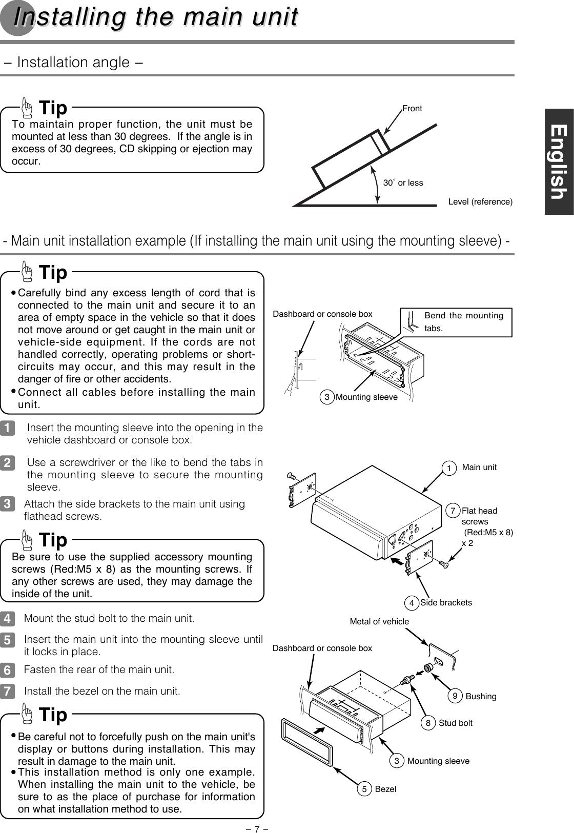 Eclipse Fujitsu Ten Marine Radio Cd 8445e Users Manual 3 28780 8445 Wiring Diagram Page 7 Of 8