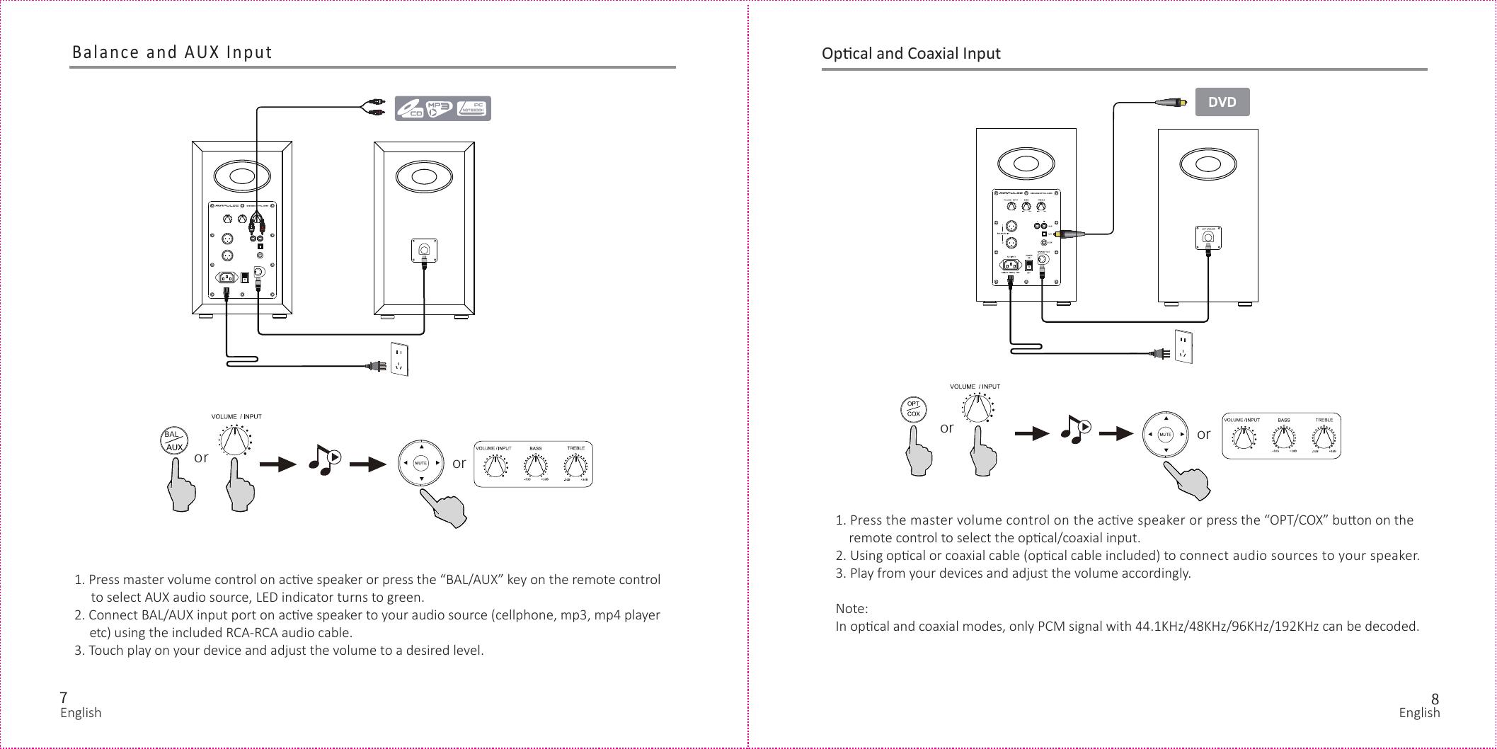 Edifier EDF45 Active Speaker System User Manual
