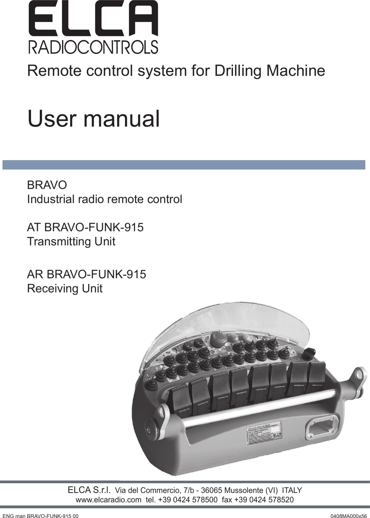 Elca S R L Arbrfu915 Transceiver Unit User Manual Manuale Sistema Add A Fuse Circuit 39mini Low Profile Aps39 Blade Holder Fusebox Radiocomando Mago Evo