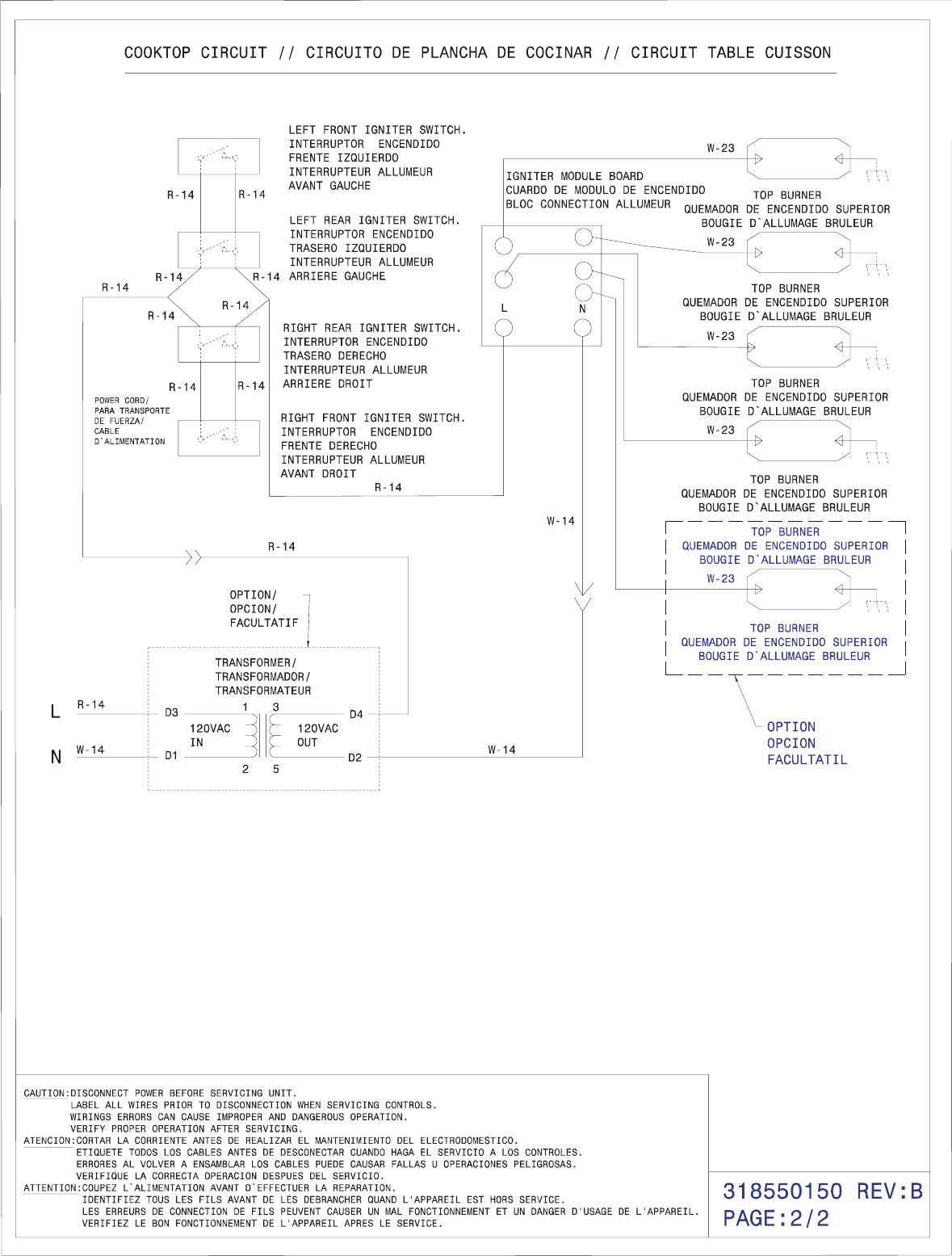 Electrolux 30 Gas Built In Range With Wave Touch Controls Ew30gs65gs Switch Wiring Diagram Page 2 Of